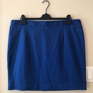 Gap Royal Blue Pencil Skirt